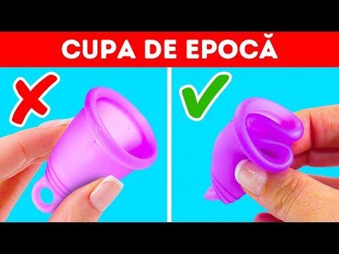 poate elimina papilomele în timpul menstruației
