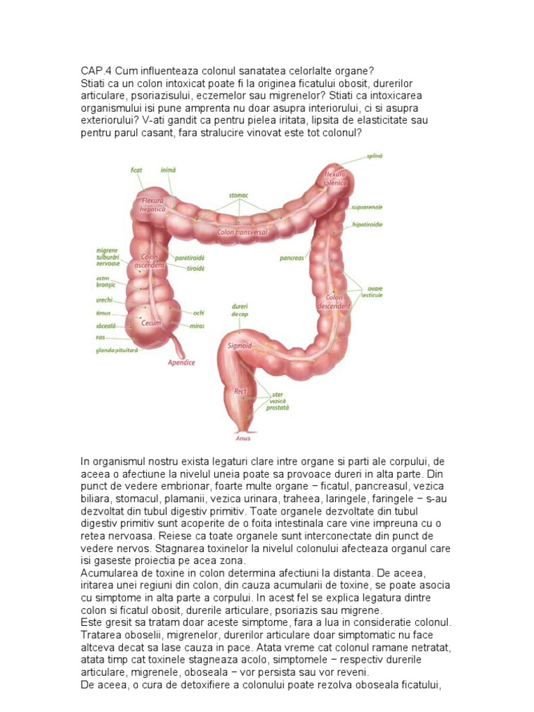 dezintoxicare colon colonică 30 zile