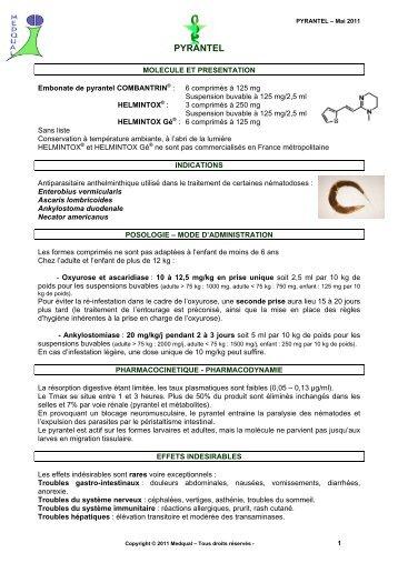 preparate de viermi pentru lista de vite)