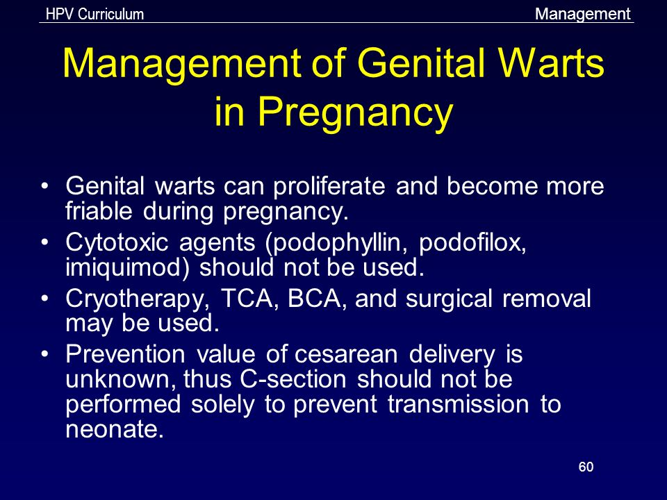 hpv warts when pregnant)