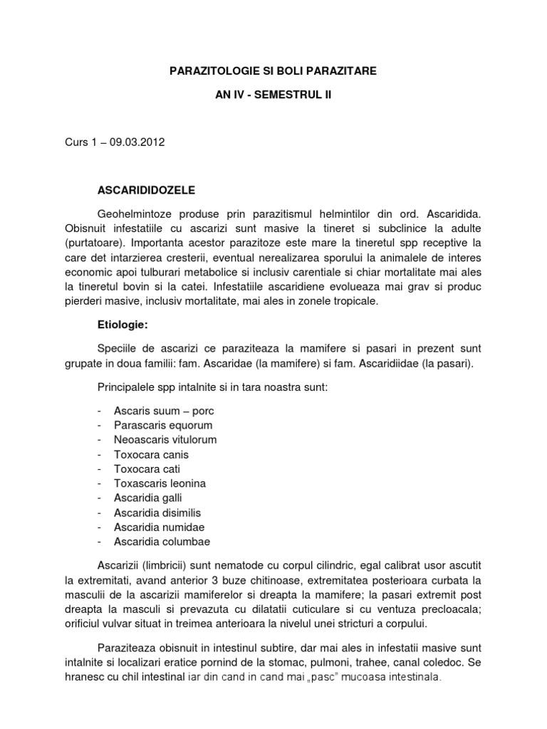 Examen coproparazitologic – Spitalul Universitar de Urgenţă Militar Central Dr. Carol Davila