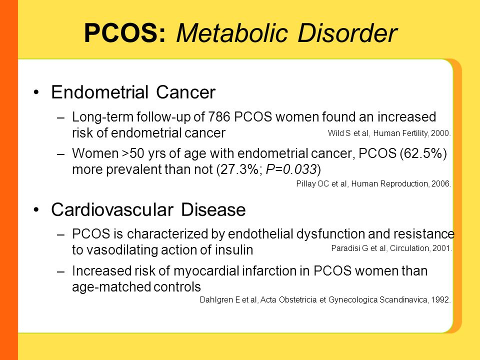 endometrial cancer and pcos)