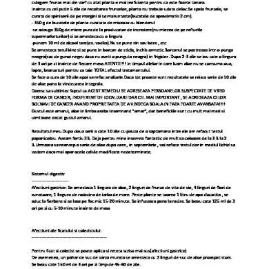 5 zile carte de detoxifiere a intestinului)
