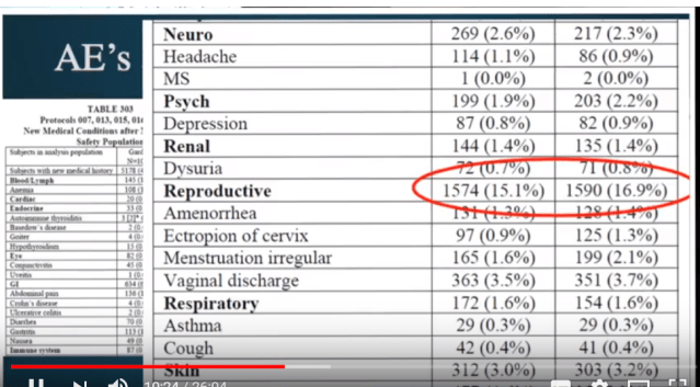 hpv vaccine side effects male