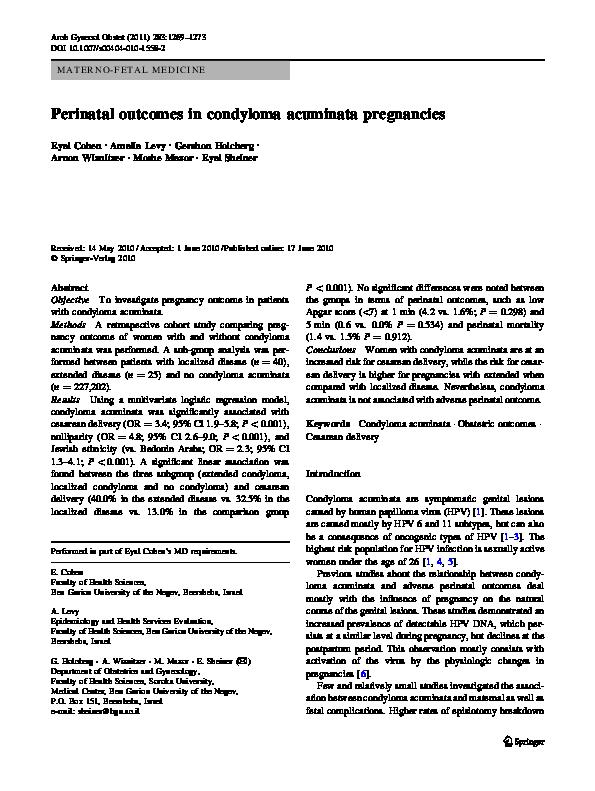 condyloma acuminata in pregnancy medicament pentru enterobioză pentru copii