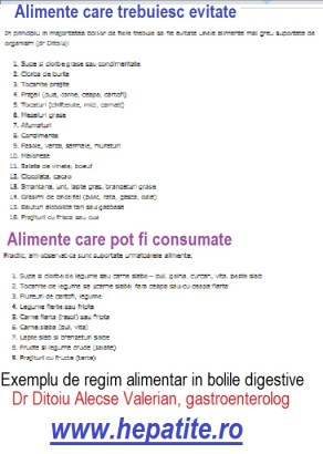 cancer la colon regim alimentar)
