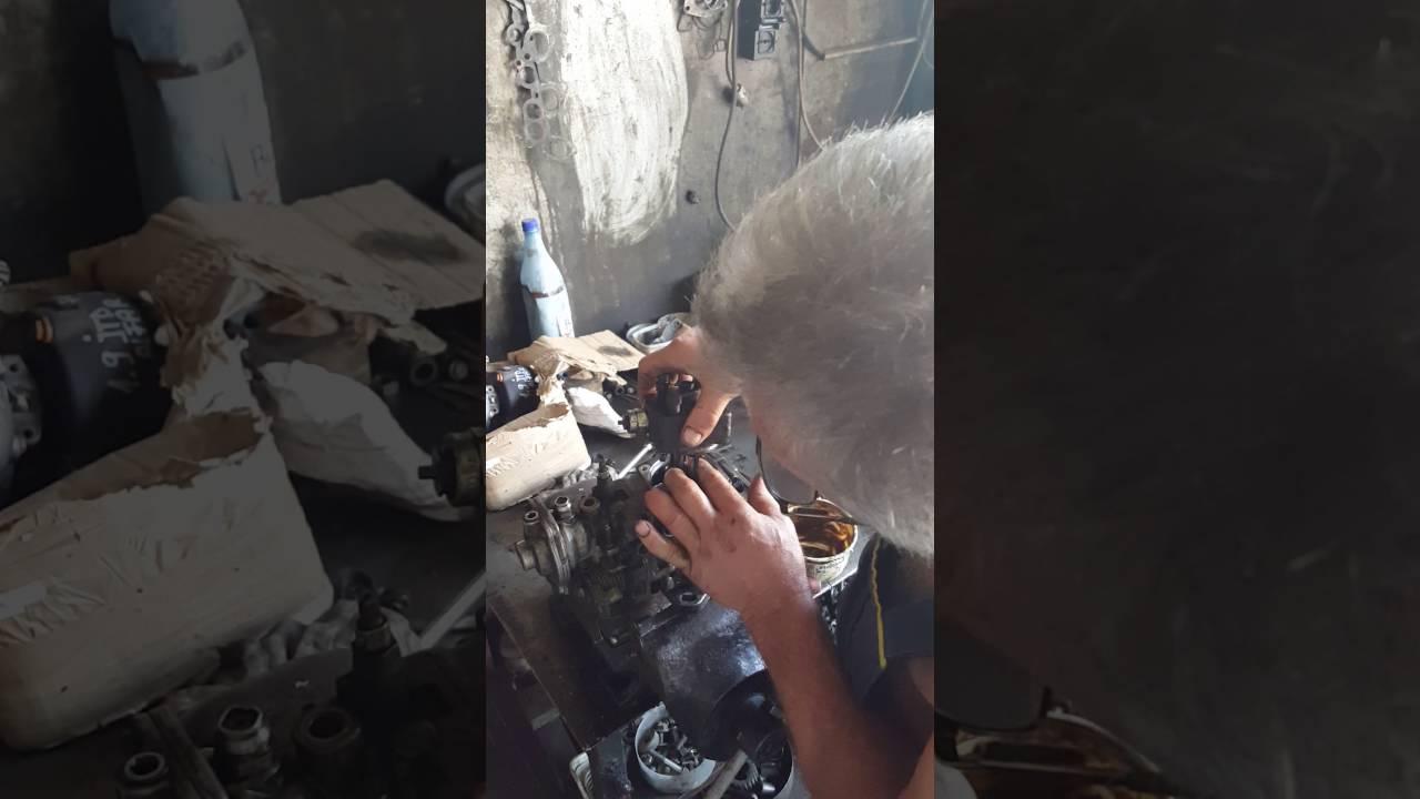 injecție de helmint