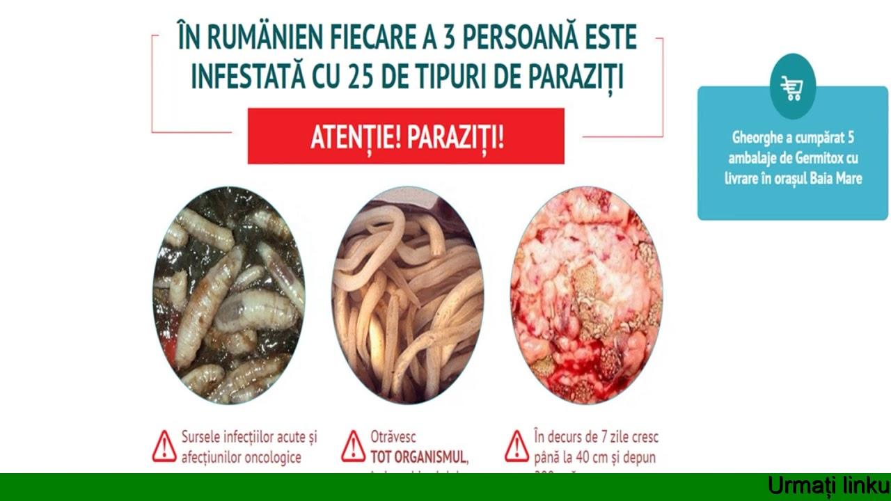 un preparat pentru toate tipurile de viermi)