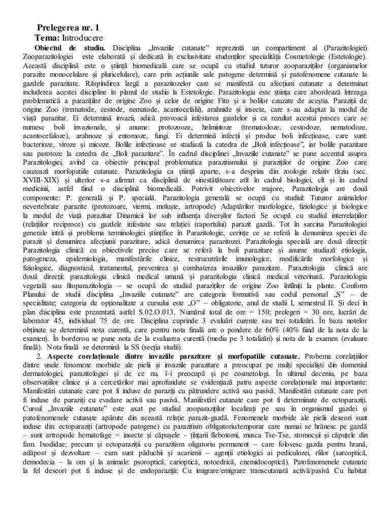 Hrănirea și digerarea nematodului uman. Giardia antigen elisa