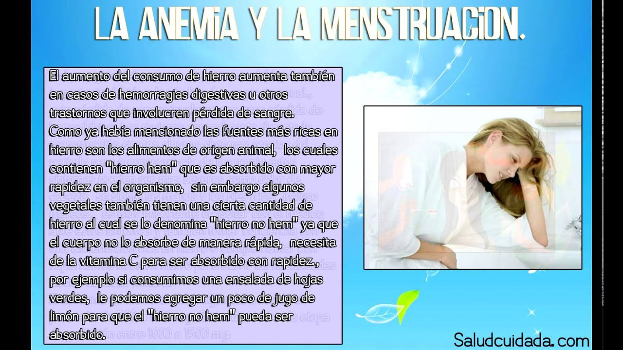Anemia prin deficit de fier la adolescenta si la femeia inainte de menopauza
