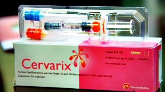 human papillomavirus vaccine gsk)