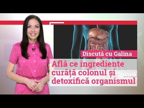 curățarea naturală a colonului de detoxifiere