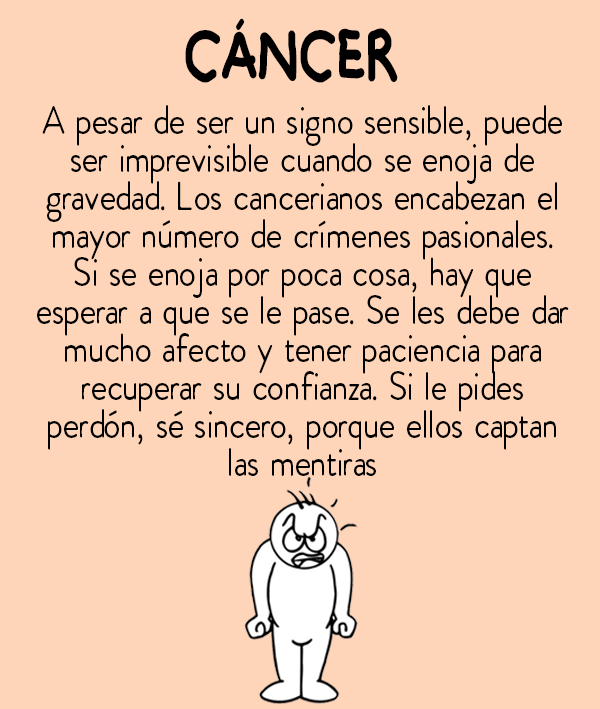 cancer que es bueno)