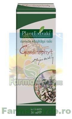 Giardinophyt - PLantExtrakt, 30 ml (Parazitoze) - dieta-daneza.ro