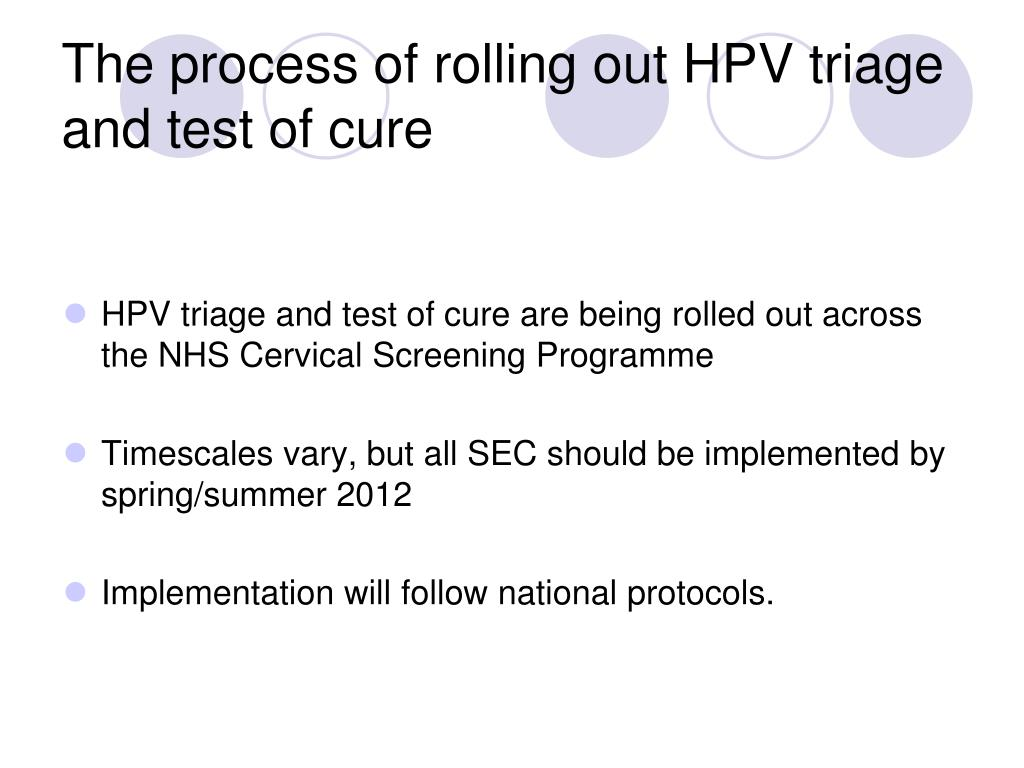 hpv cure nhs