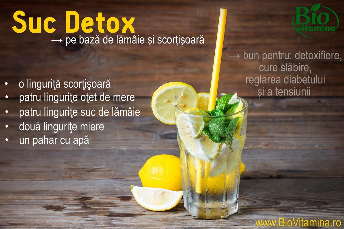 detoxifiere si slabire cu lamaie