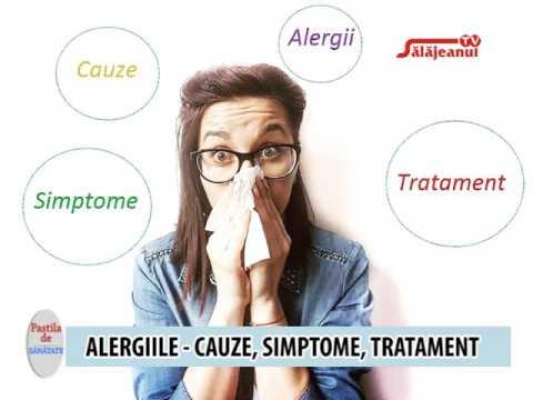 tratament al parazitului alergic)