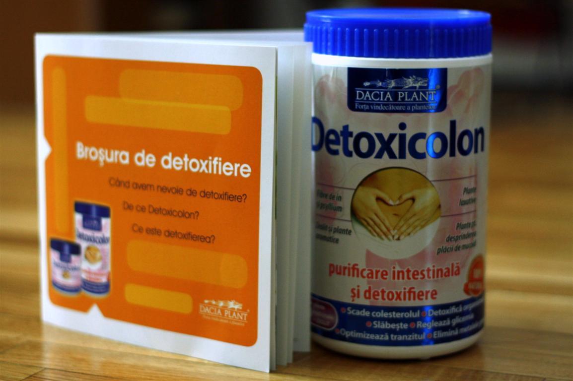 detoxifiere naturală a colonului)