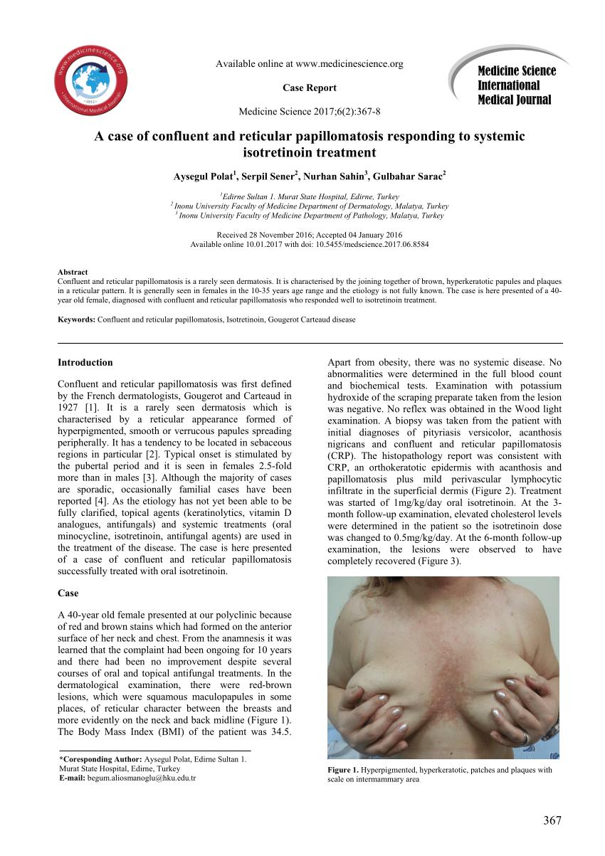 etiology of papillomatosis)