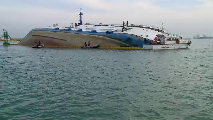 poziția actuală a navei