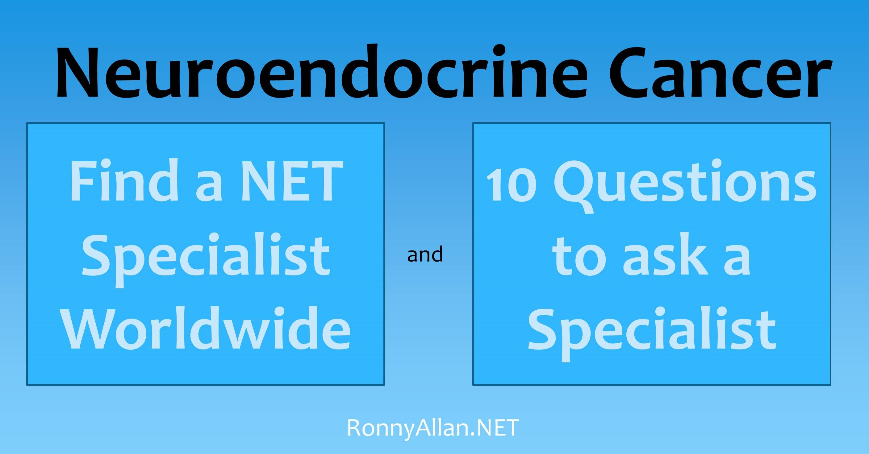 neuroendocrine cancer best doctors