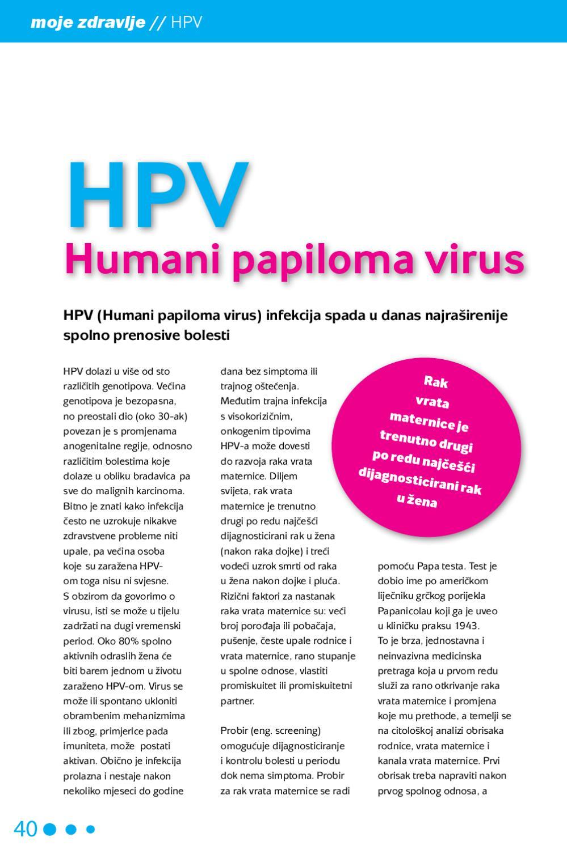 hpv virus zbog pada imuniteta