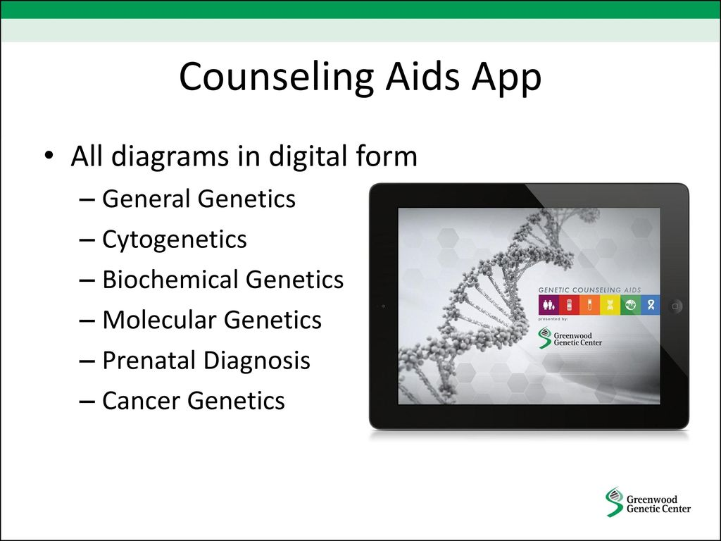 cancer genetic counseling visual aids)