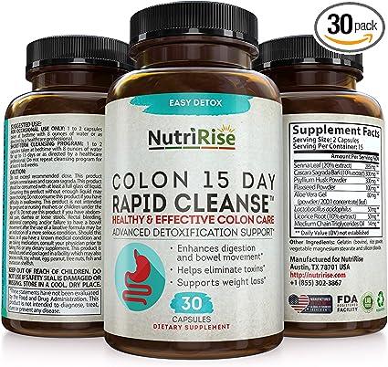 Colon Detox (500 mg) supliment alimentar Ecologic Republica BIO, 90 capsule (53,5 g)