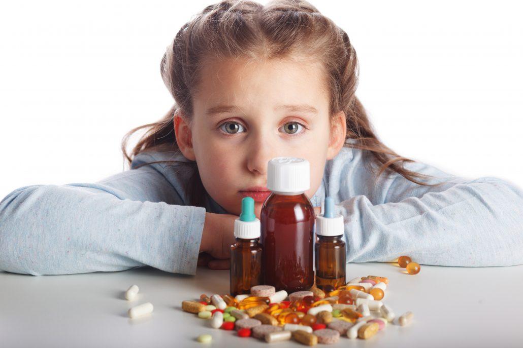 Intoxicația cu medicamente la copii   SanoTeca