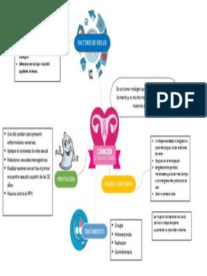 Virus del papiloma mapa conceptual