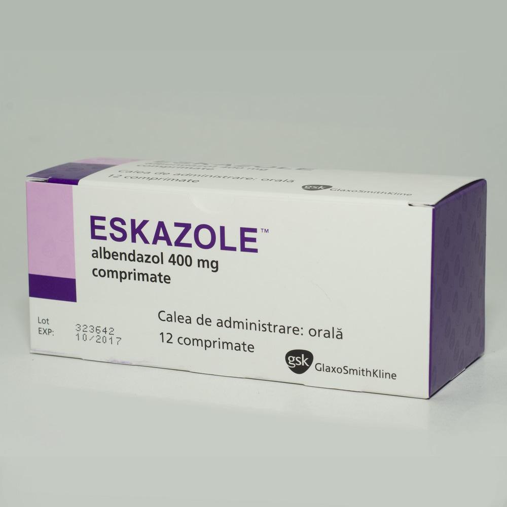 Comprimat antihelmintic pentru oameni