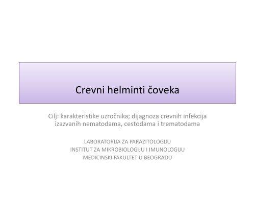 Simptome de helmint, Toate specialitățile, Prevalența helminților