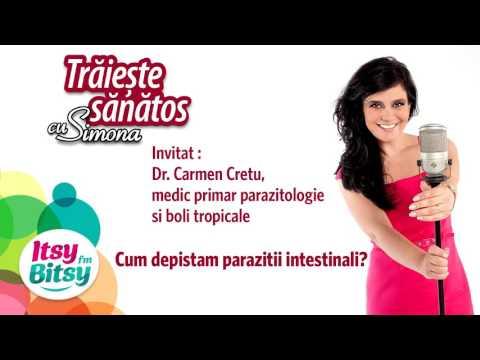 Oare am și eu paraziți intestinali?