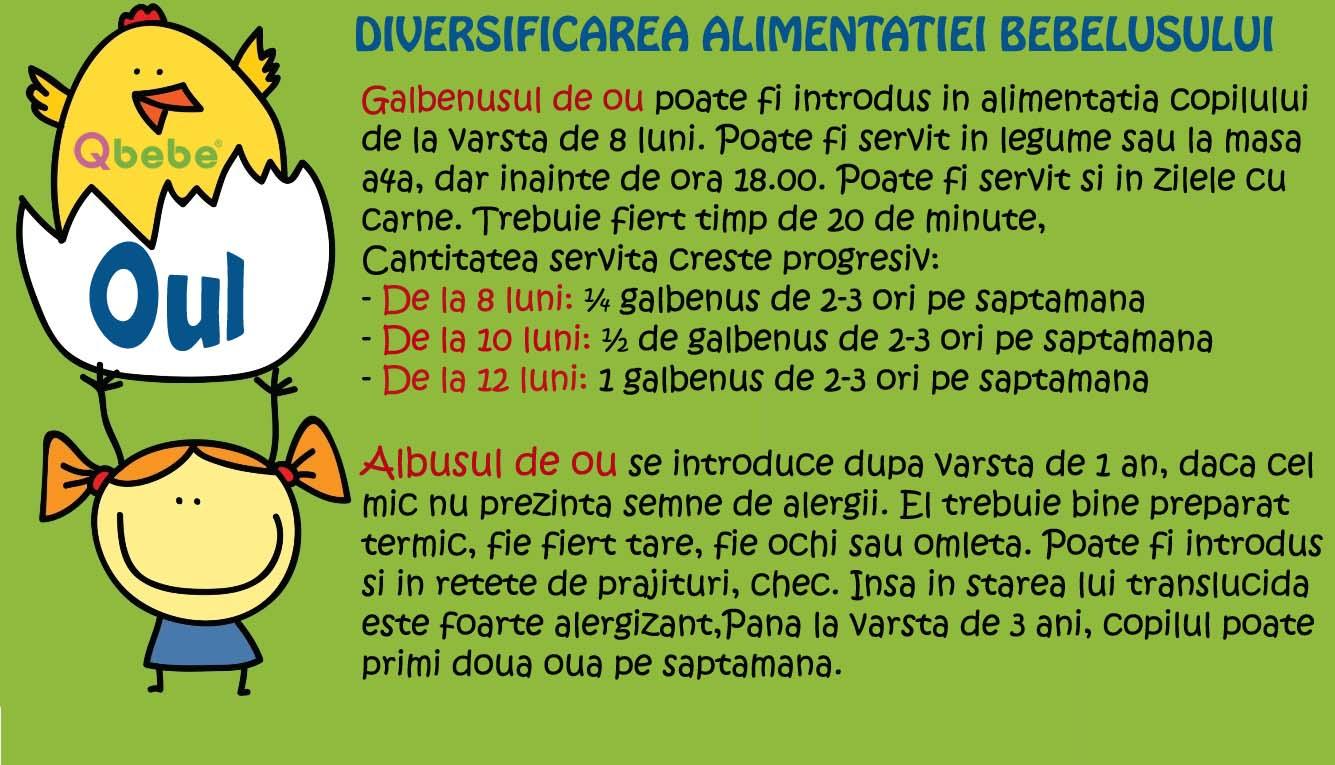 tratament cu lista ouă la un copil)