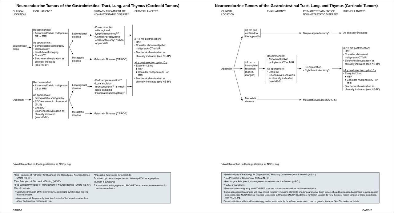 neuroendocrine cancer guidelines