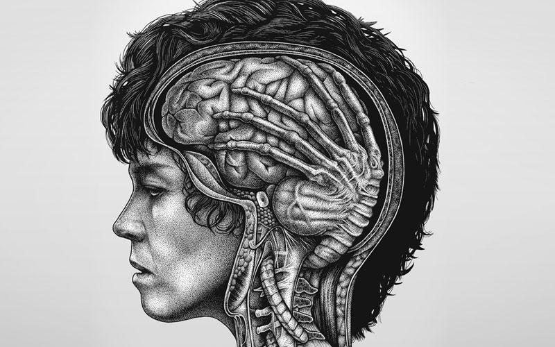 paraziti pe creier simptome)