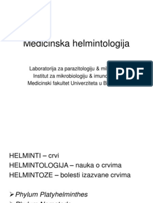 helminti simptome copii)