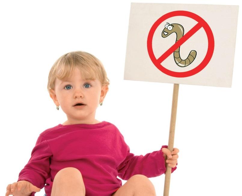 pentru copii împotriva helmintilor)