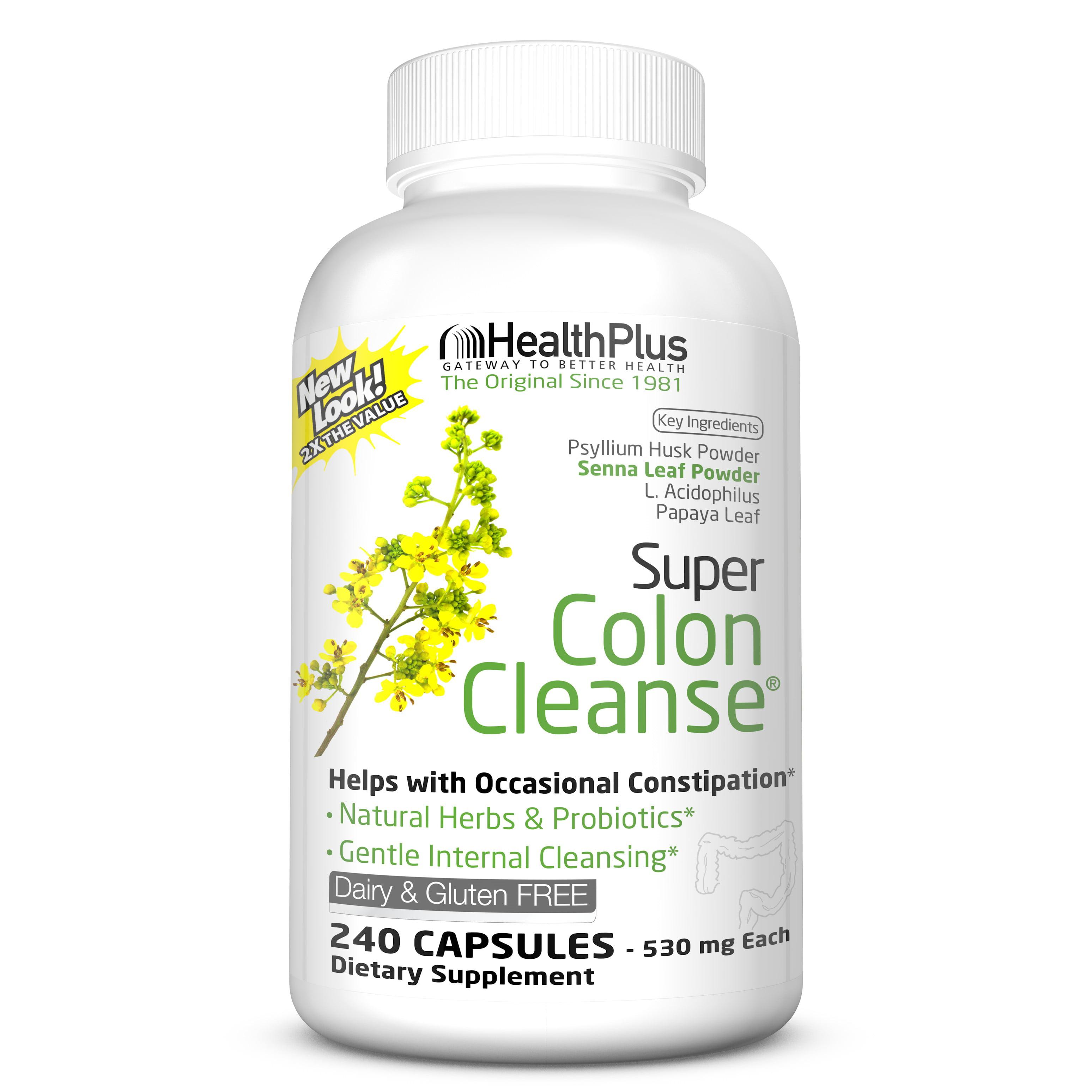 Super Colon Cleanse - Life Impulse, 30 capsule (Detoxifiere) - triplus.ro