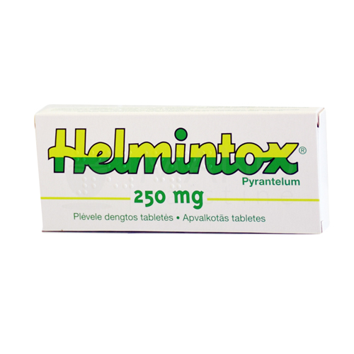 helmintox pyrantel 250mg)