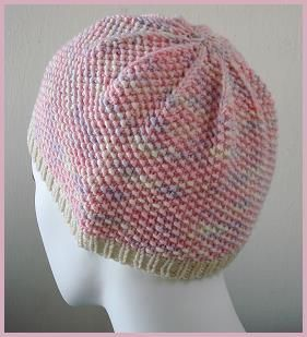 cancer cap knitting pattern)
