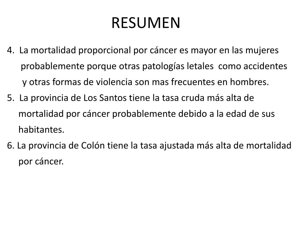 cancer de colon resumen