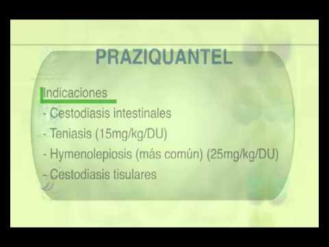 antihelmintic pentru profilaxia umană)
