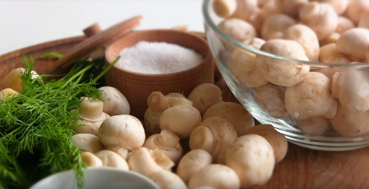 ciuperci in saramura)