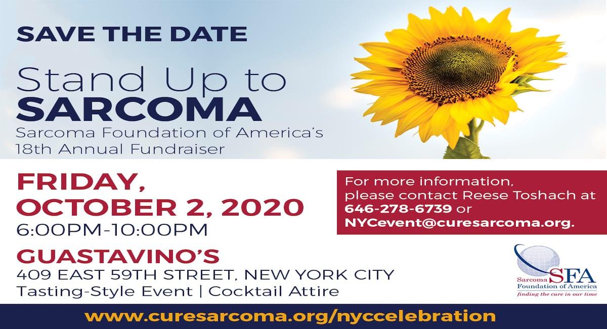 sarcoma cancer fundraisers)
