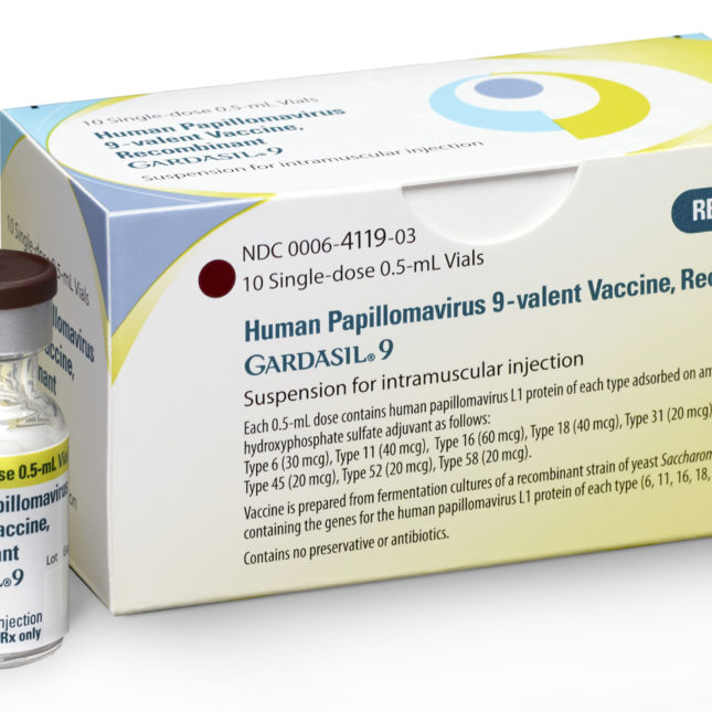 hpv and gardasil 9)