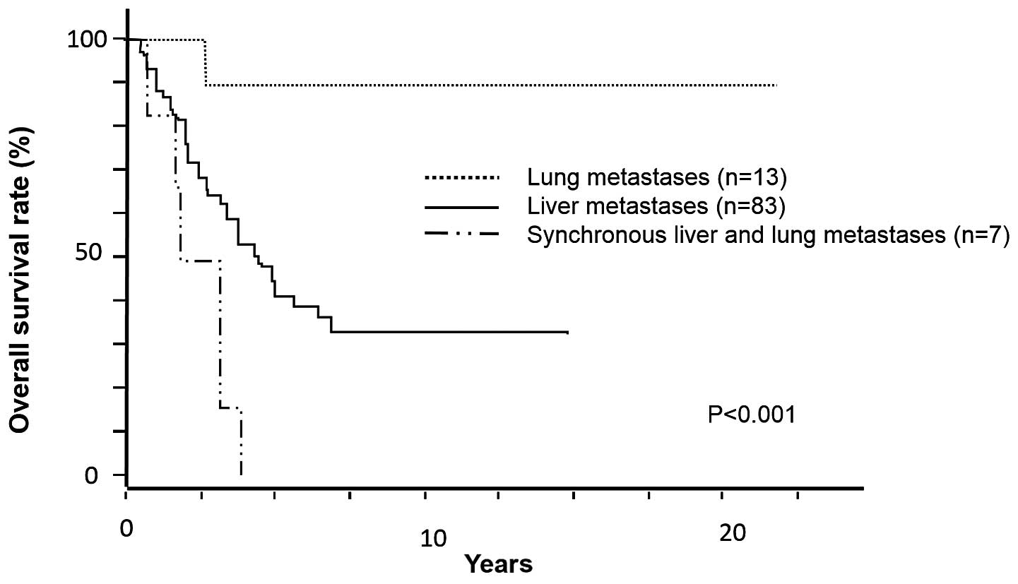 liver cancer metastatic prognosis)