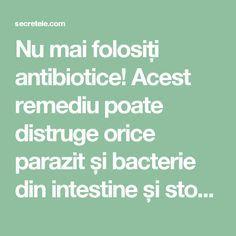 medicamentul oprește parazitul)