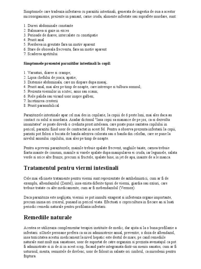 tratamentul viermilor pentru colita ulcerativa