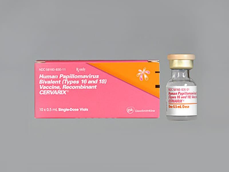 human papillomavirus vaccine gsk